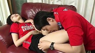 Amateur Korean cuple teen fucking in hotel clip 6