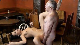 Teen plays connected with dildo together with horny headman mature wife Can