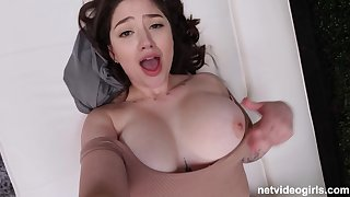 Full-Breasted Second-rate Sex Not far from Unbelievable Juggs - Alyx Star